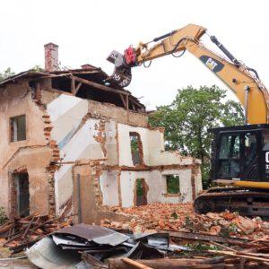rozbiórki budowlane konin